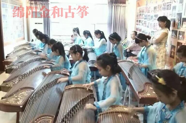金和古筝集体演奏排练课